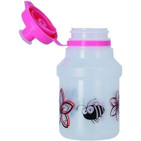 XLC WB-K14 Drinking Bottle 350ml incl. Holder Kids flowers